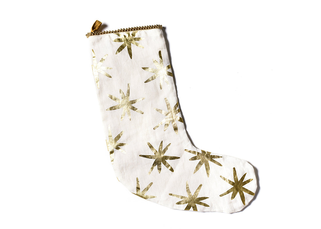 Gold Star Stocking