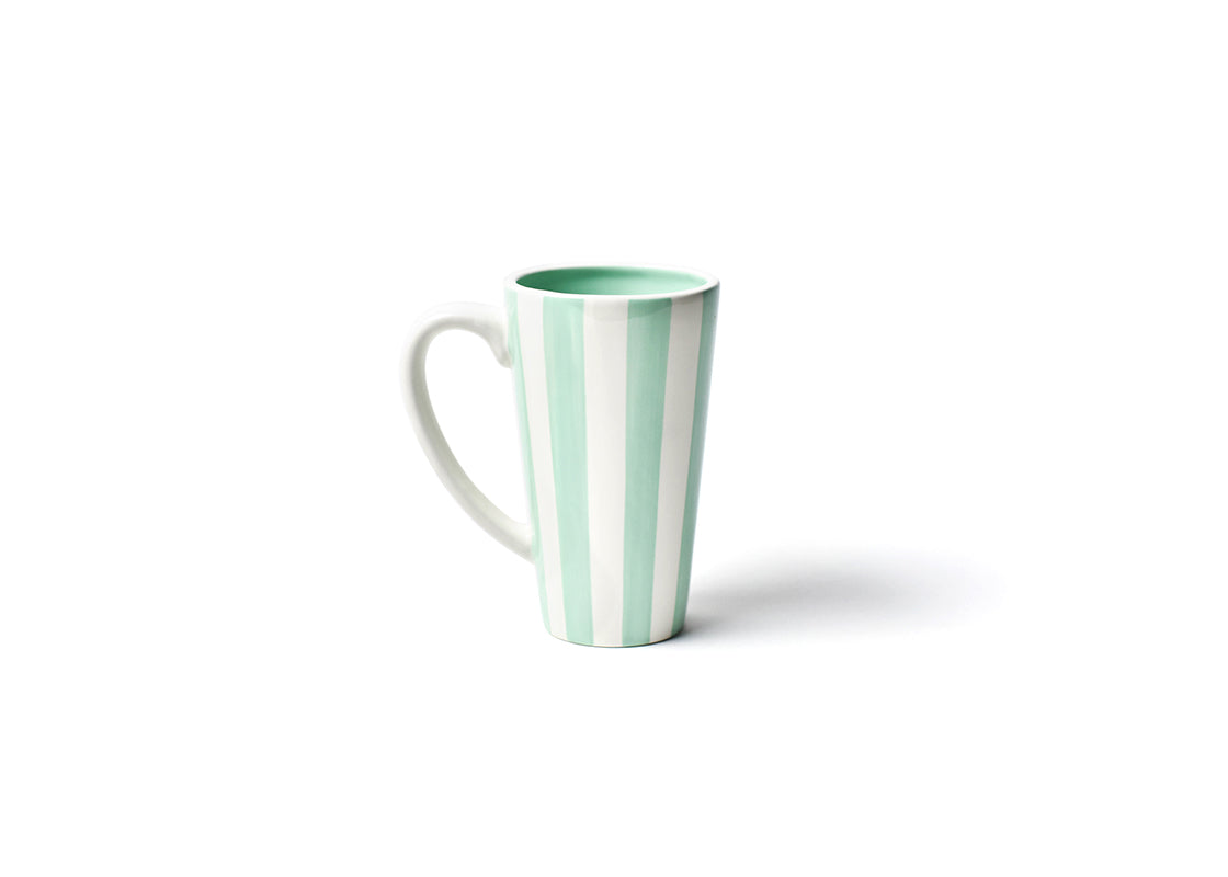 Mint Stripe Mug