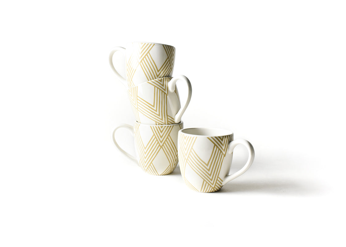 Cobble Woven Mug, Set of 4