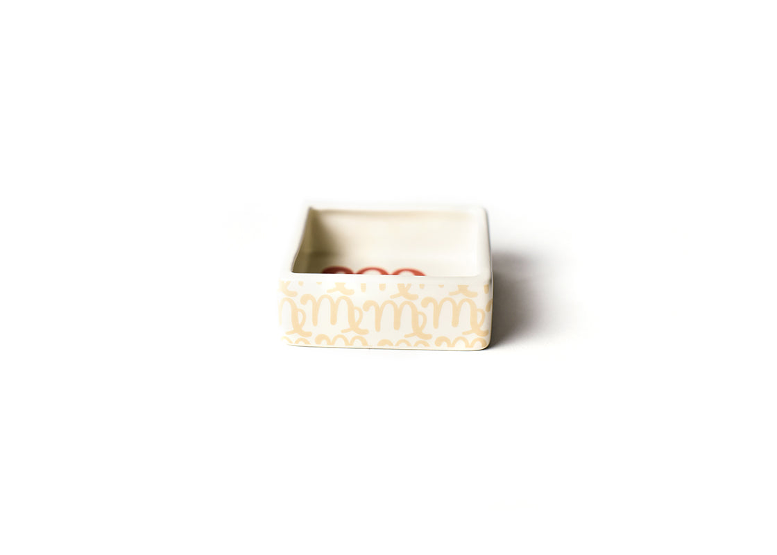 Zodiac Virgo Square Trinket Bowl