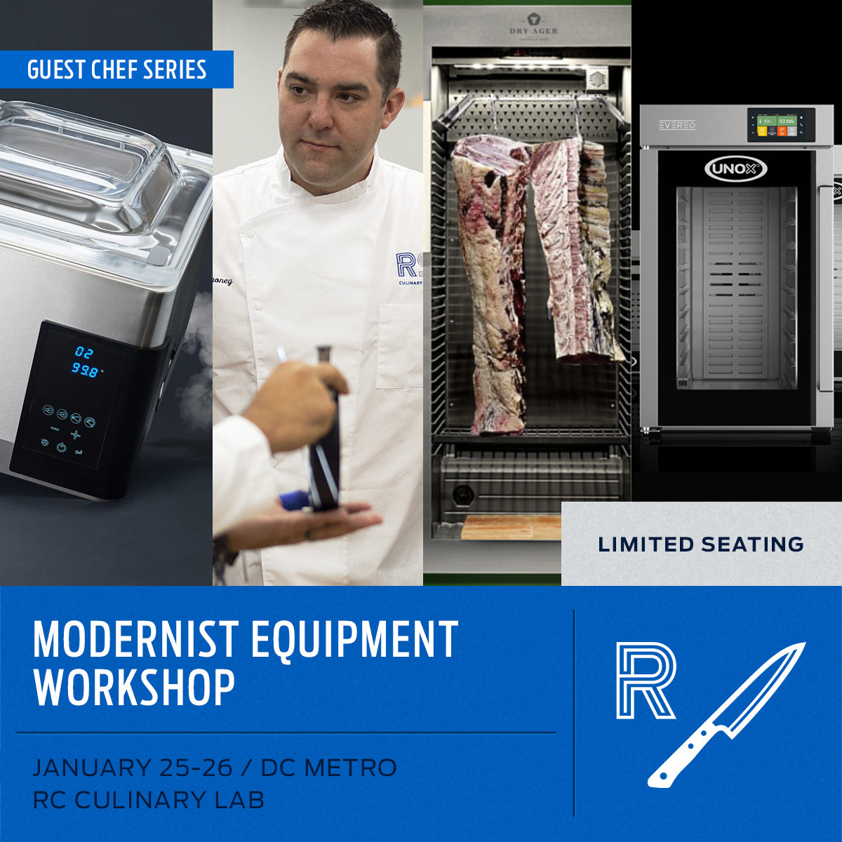 Modern Equipment, January 25th-26th, 2021 - RC Culinary Lab, DC Metro