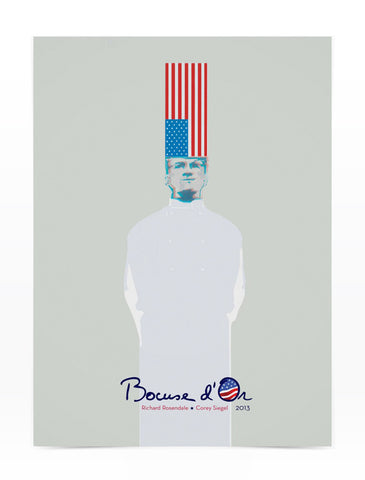 Bocuse d'Or USA Signed Poster