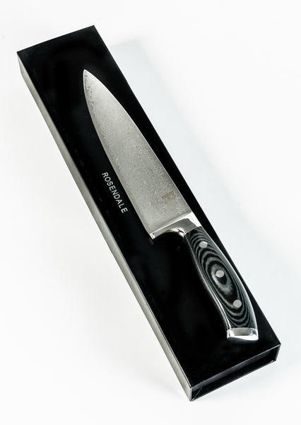RC Japanese Damascus Super Steel Chef Knife