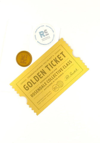 3 Golden Ticket Class Passes Anywhere in the World