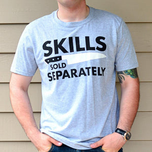 Skills Tee / Light Gray (Free Shipping Fee)