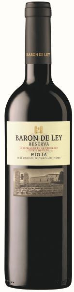 Baron de Ley Reserva Spain Red Wine Whelehans Wines
