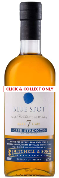 Blue Spot Single Pot Still Whiskey 70cl