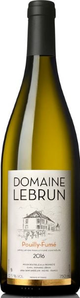Domaine Lebrun Pouilly Fume France White Wine Whelehans Wines