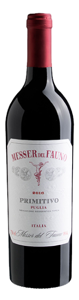 Messer del Fauno Primitivo Italy Red Wine Whelehans Wines