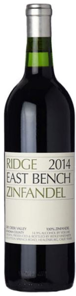 Ridge East Bench Zinfandel USA Red Wine Whelehans Wines