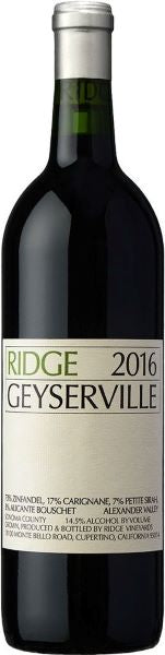 Ridge Geyserville USA White Wine Whelehans Wines