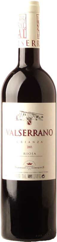 Valserrano Crianza Spain Wine Whelehans Wines