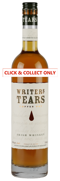 Writers Tears Copper Pot Whiskey 70cl