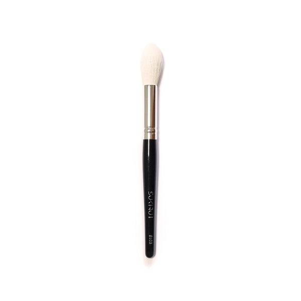 Pointed Round Fluffy Face Brush | B103