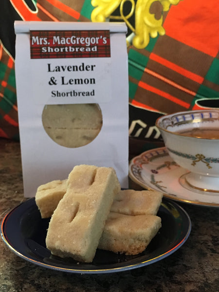 Lavender & Lemon Shortbread
