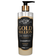 Load image into Gallery viewer, Felps Gold Million Shampoo 7.78oz