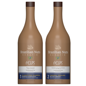 Brazillina Nuts Thermal Keratin Treatment Set