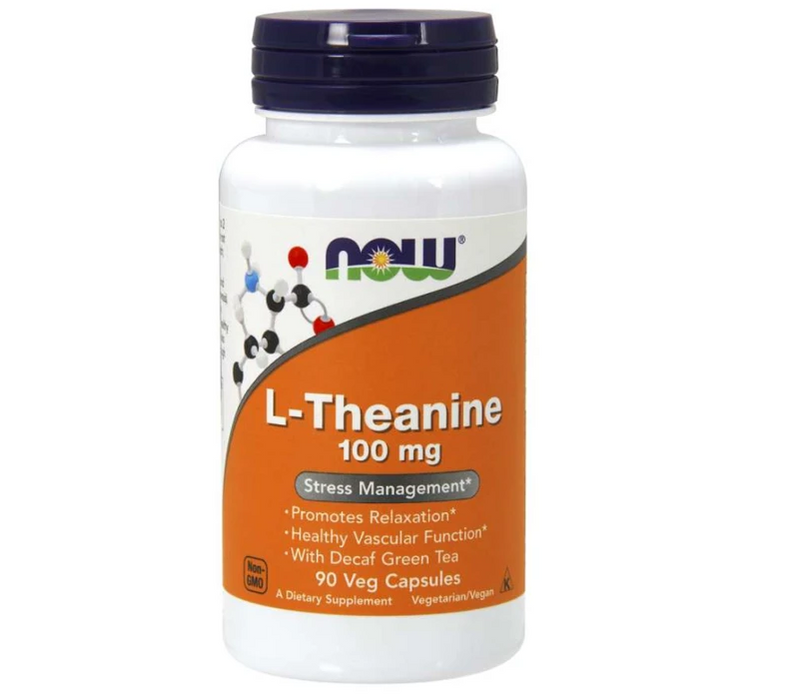 NOW L-Theanine 100 mg