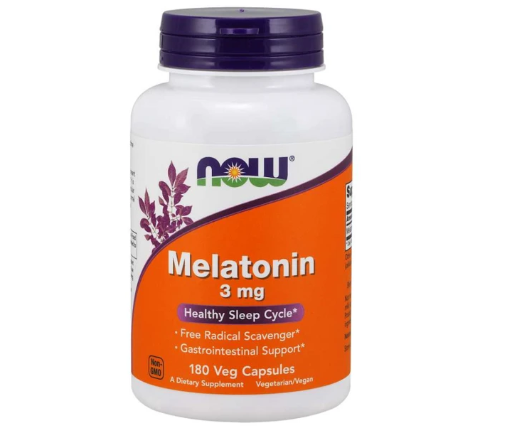 NOW Melatonin 180 Cap