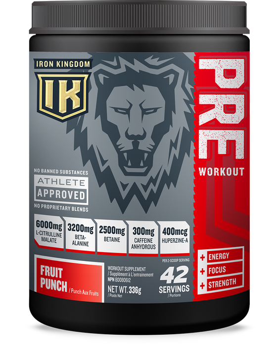 Iron Kingdom Pre Workout