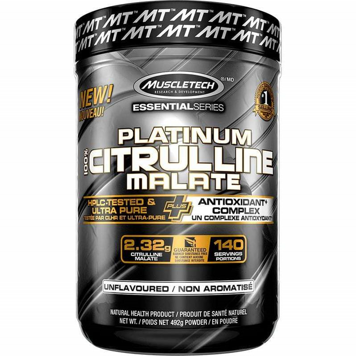 MuscleTech Citrulline Malate Value Size