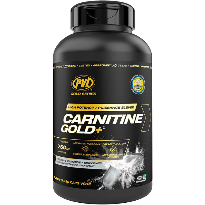 PVL Carnitine Gold - 228 Cap