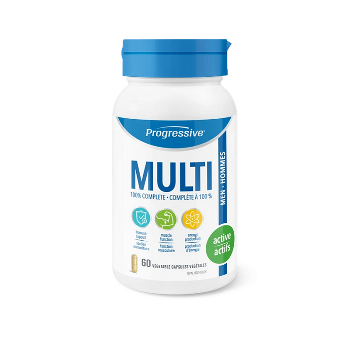 Progressive MULTI Active Men 60 Capsules