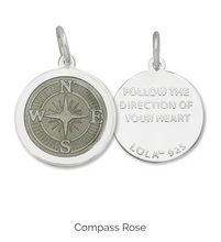 Load image into Gallery viewer, LOLA - Compass Rose Pendant - Oxy