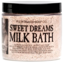 Plum Island Soap Co. - Sweet Dreams Milk Bath Scrub