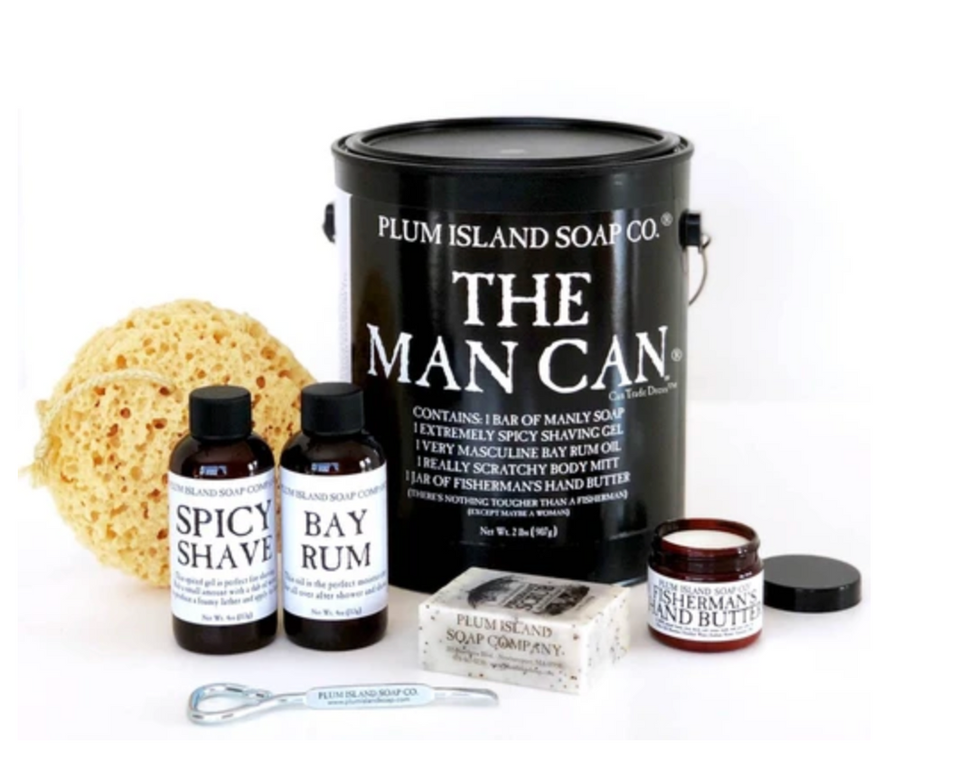 Plum Island Soap Co. - The Man Can