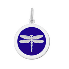 Load image into Gallery viewer, LOLA -  Dragonfly Pendant - Indigo