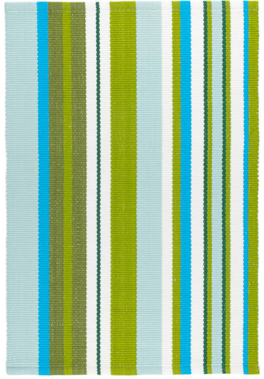 Dash & Albert - River Stripe Indoor/Outdoor Rug