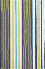 Load image into Gallery viewer, Dash & Albert - Asher Stripe Woven Cotton Rug