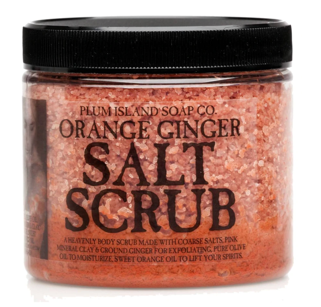 Plum Island Soap Co. - Orange Ginger Salt Scrub