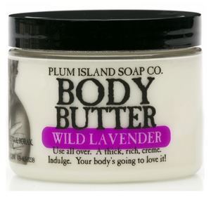 Plum Island Soap Co. - Wild Lavender Body Butter