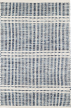 Load image into Gallery viewer, Dash & Albert - Malta Blue Woven Wool Rug