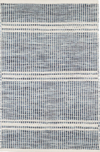 Dash & Albert - Malta Blue Woven Wool Rug