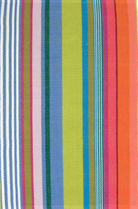 Dash & Albert - Mellie Stripe Woven Cotton Rug
