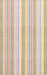 Dash & Albert - Tempi Stripe Woven Cotton Rug