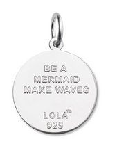 Load image into Gallery viewer, LOLA - Mermaid Pendant - Periwinkle