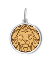Load image into Gallery viewer, LOLA - Lion Pendant - Gold Vermeil