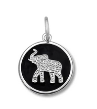 Load image into Gallery viewer, LOLA - Elephant Pendant - Black