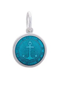 LOLA - Anchor Pendant - Teal