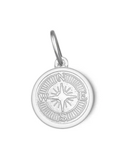 Load image into Gallery viewer, LOLA - Compass Rose Pendant - Alpine White