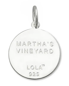LOLA - Martha's Vineyard Pendant - Pink