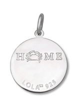 Load image into Gallery viewer, LOLA - Crab Pendant - Seafoam
