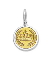 Load image into Gallery viewer, LOLA - Crown Pendant - Gold