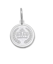 Load image into Gallery viewer, LOLA - Crown Pendant - Alpine White