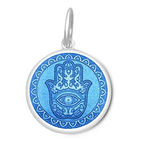 Load image into Gallery viewer, LOLA - Hamsa Pendant - Periwinkle