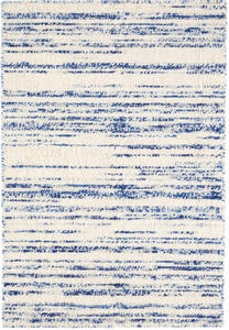 Dash & Albert - Echo Blue Loom Knotted Wool Rug